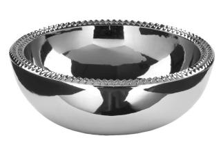 Fink Kairo/Schale,Keramik,Silber/D.35Cm,H.13Cm 126201