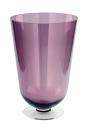 Fink ROYAL Windlicht,berry,transparent,m.Fuss 50x33cm 115014