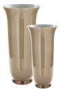 Fink CALIC Glasvase,greige,opal H68cm, Ø 32,5cm 115085