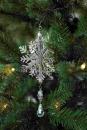 Fink Snowflake Schneeflocke,Hänger,3D,Vernick 13X10...