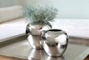Fink LOSONE Vase,vernickelt  Höhe 20cm Ø 20cm...