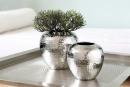 Fink LOSONE Vase vernickelt gehämmit  H20cmD20cm 157013