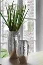 Fink AFRICA Vase vernickelt gehämmit  H=28cmD=14cm...