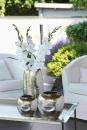 Fink AFRICA Vase,vernickelt,gehämm.  Höhe 40cm Ø 21cm 157020