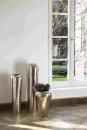 Fink TUTZI Vase,vernickelt,gehämm.  Höhe 70cm Ø 22 cm 157025
