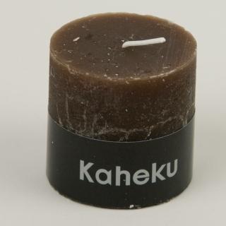 Kaheku Cylinderkerzen 3er Set Rusti braun 6,8 Ø 13h 53847613691