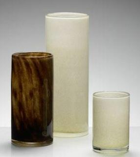 Kaheku Vase Bari braun Durchmesser 12 cm Höhe 26 cm 662000511