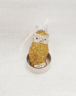 Kaheku Hänger Bosca Eule gold glanz 8h/Glitter 905044738