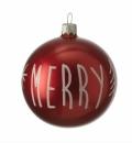 Leonardo  Christbaumkugel Weihnachtsbaumkuge Kugel 8 cm...