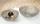 Gilde Edelstahl H:12 cm  D: 36 cm und 30 cm 2er Schale Tessuto 65831