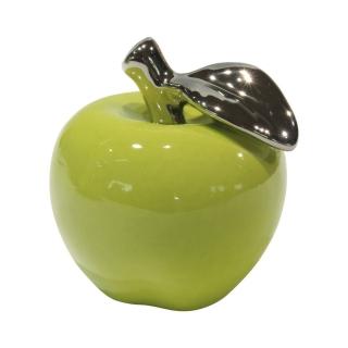 Gilde Keramik Deko-Apfel grün La Viva 47909 H: 28 cm D:23 cm