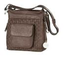 "Gilde Leder Tasche""Mia""Hunt0370  braun -..."