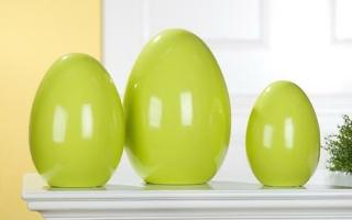 Gilde Keramik Ei stehend 20650