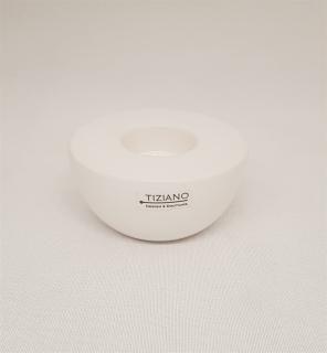 Tiziano Teelicht Bella D: 10cm creme 722331