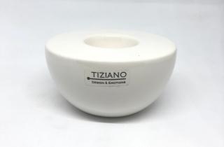 Tiziano Teelicht Bella D: 11,5cm creme 722332