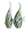 Gilde GlasArt Wimpelfisch im Streifendesign in 2...