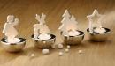 Gilde Porzell Windlicht Xmas 25480 sortiert