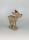 Gilde Poly Rentier braun 23x18x7 cm 25774