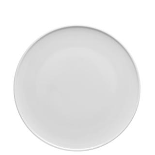 Thomas Teller flach 27 cm ONO Weiss 11965-800001-10867