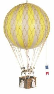 Authentic Models AP163Y Ballon gelb D = 32 cm Royal Aero