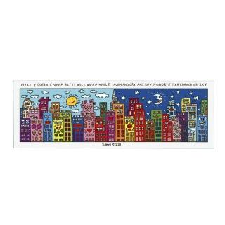 Goebel My City Does Not Sleep - Magnettafel Pop Art James Rizzi 26101631