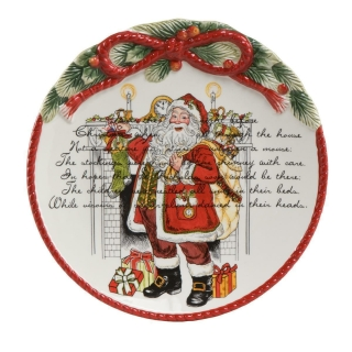 Goebel Weihnachtsteller Fitz and Floyd Fitz & Floyd Christmas Collection 51000031