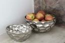 Fink Bora Schale,Keramik,Silber  Durchmesser 28  cm...
