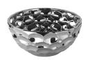 Fink Bora Schale,Keramik,Silber  Durchmesser 28  cm ,Höhe 12  cm  126017