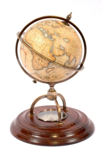 "Authentic Models / GL019 / Globus mit Kompass ""Mercator"""
