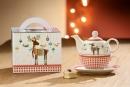 Gilde Porzell Tea For One Rentierfreunde 49363