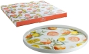 Gilde Porzell Tortenplatte Fresh Fruit 49418