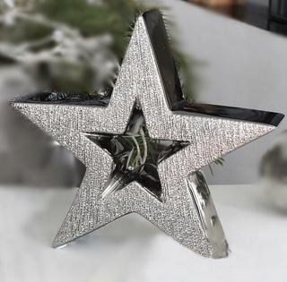 Gilde Keramik Deko-Stern Stellar 43068