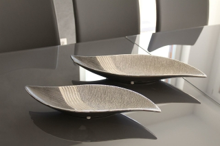 Gilde 1 x Keramik Schale Bridgetown S-Form 43207
