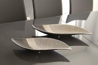 Gilde Keramik Schale Bridgetown S-Form 43206