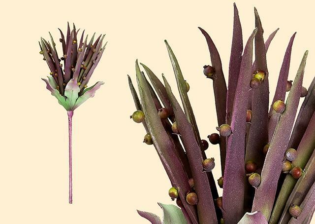 Gilde Deko Aloe Vera Blüte 42682 Höhe 60-80 cm Kunstblume