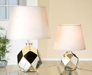 Gilde Keramik Lampe Atomium 34611