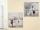 Gilde Bild Gemälde Pariser Schirmpaar grau/creme/rot, Triumphbogen oder Eiffelturm  Breite 60 cm Höhe 60 cm 38750