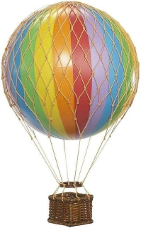 Authentic Models Ballon 13 cm Floating The Skies, Rainbow AP160E
