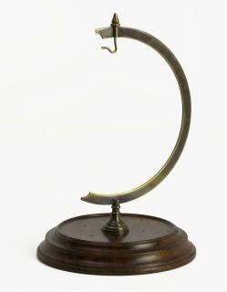 Authentic Models Desk Stand Globe/Clock GL000