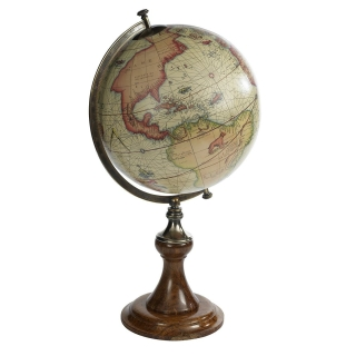 Authentic Models Mercator Half Globe Stand GL002D