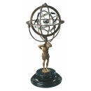 Authentic Models Globus 18th C. Atlas Armillary GL051