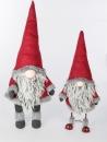 Formano Winter Wichtel 68 cm Textil rot grau 528322 Bild...