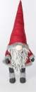 Formano Wichtel 84 cm Textil rot grau 528339 linkes Bild