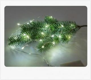 Formano Lichterkette 120 cm mit 20 LED Lichtern 634016