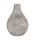 Kaheku Vase Crux creme-mocca 11 Ø 15h 1116000309