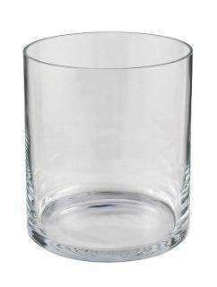 Kaheku Windlicht New York zylindrisch klar, Ø 16,6 cm, H= 18 cm  Klarglas  38500007