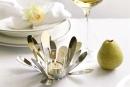 Fink Florine  Teelichthalter  Edelstahl   Glas...