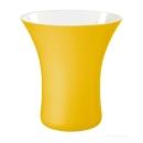 ASA Vaso Vase, gelb D. 21 cm 13 cm, H. 22 cm 62003063
