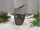 Formano Vase flach 20cm Luxor-silber   715692