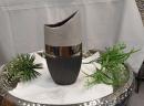 Formano Vase flach 30cm Luxor-silber   715708